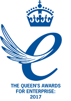 Queen's Award logo critical-load